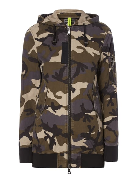 blonde no 8 jacke mit camouflage muster in gr n online. Black Bedroom Furniture Sets. Home Design Ideas