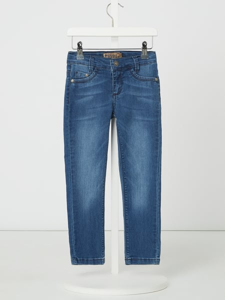 Blue Effect Skinny Fit Jeans mit Stretch-Anteil Blau - 1