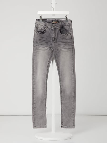 Blue Effect Slim Fit Jeans mit Stretch-Anteil Grau - 1