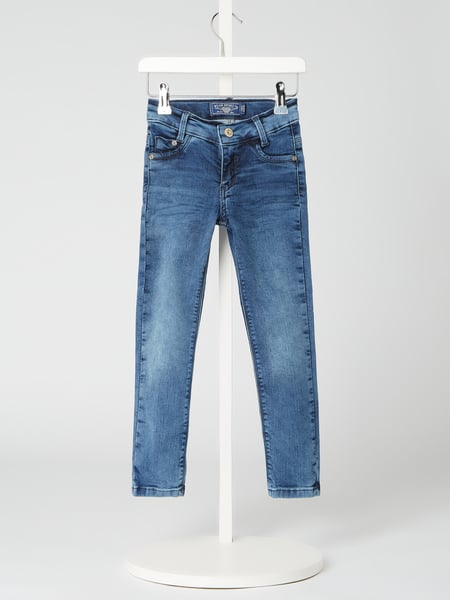 Blue Effect Super Skinny Fit Jeans mit Stretch-Anteil Blau - 1