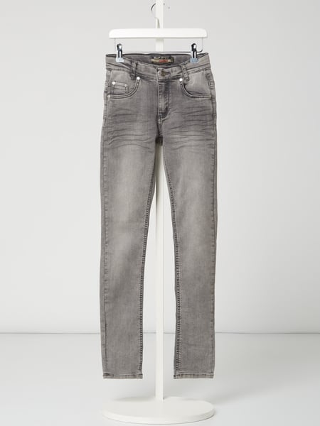 Blue Effect Super Slim Fit Jeans mit Stretch-Anteil Grau - 1