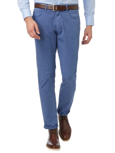 Bogner Classic Fit 5-Pocket-Hose mit Stretch-Anteil Blau - 1