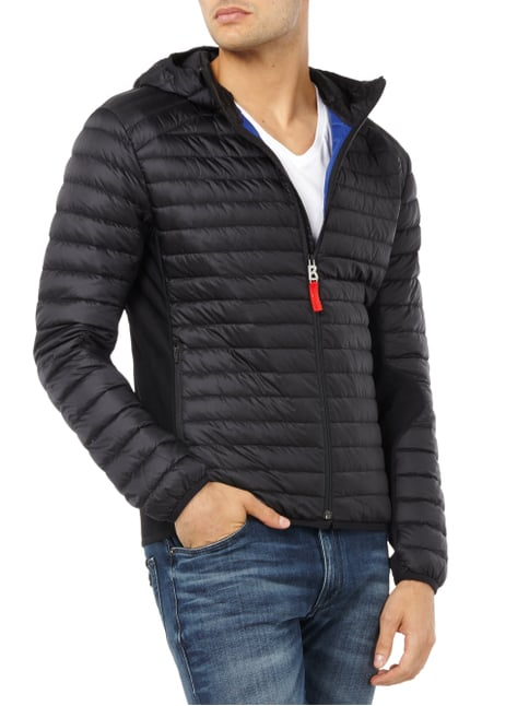 Bogner Fire + Ice Light-Daunen Steppjacke mit Kapuze Schwarz - 1