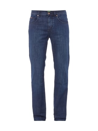 5-Pocket-Jeans im Rinsed Washed-Look Blau / Türkis - 1
