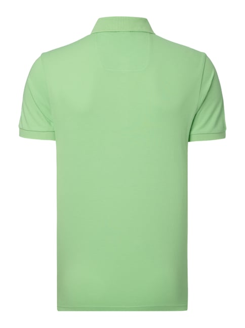 Boss Green Regular Fit Poloshirt aus Piqué Grün - 1