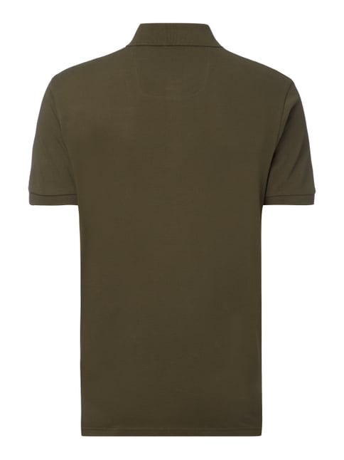 Boss Green Regular Fit Poloshirt aus Piqué Olivgrün - 1