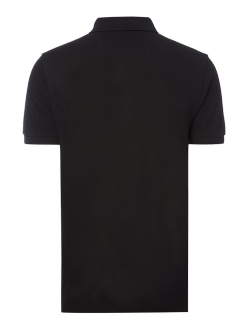 Boss Green Regular Fit Poloshirt aus Piqué Schwarz - 1