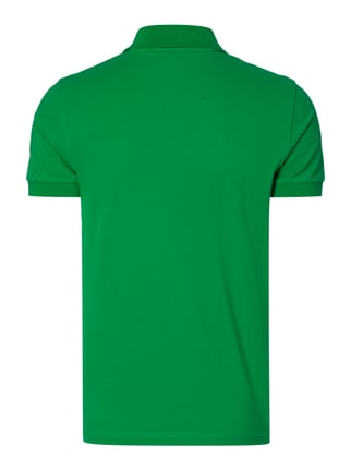 Boss Green Regular Fit Poloshirt aus reiner Baumwolle Grün - 1