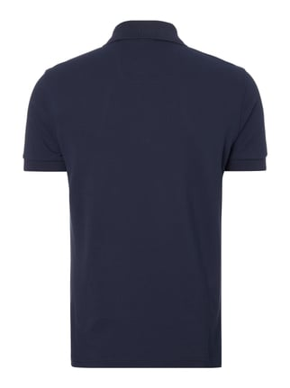 Boss Green Regular Fit Poloshirt aus reiner Baumwolle Marineblau - 1