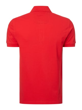 Boss Green Regular Fit Poloshirt aus reiner Baumwolle Rot - 1