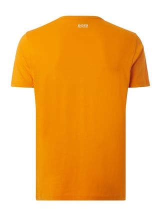 Boss Green T-Shirt mit Logo-Print Orange - 1