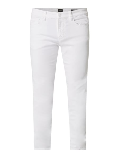 Boss Casual Coloured Slim Fit Jeans Weiß - 1