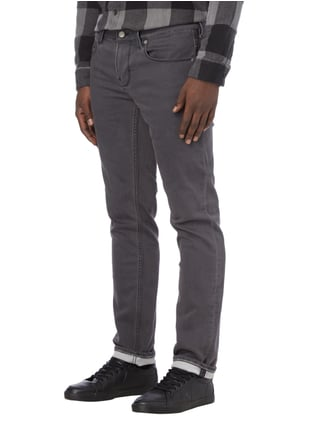 Boss Orange Coloured Slim Fit Sweatjeans Mittelgrau - 1