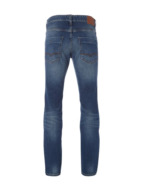 Boss Orange Double Stone Washed Slim Fit Jeans Blau - 1