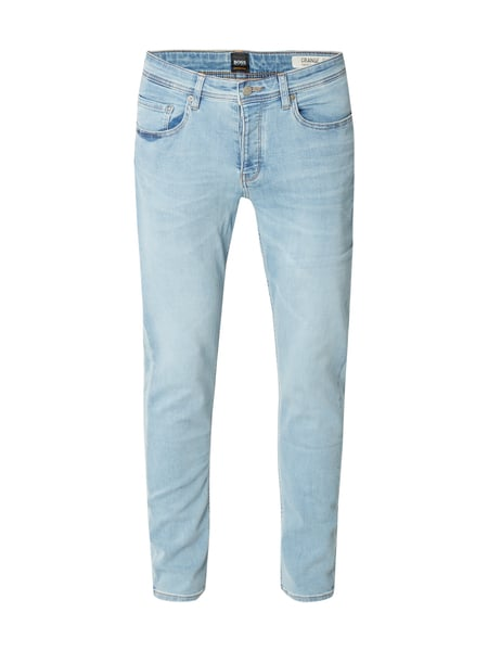 Boss Orange Orange90-p 10192 - Double Stone Washed Tapered Fit Jeans Türkis