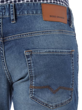 Modern Regular Fit Jeans im Stone Washed-Look Boss Orange online kaufen - 2