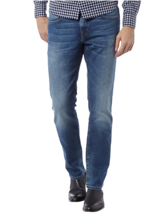 Boss Orange Modern Regular Fit Jeans im Stone Washed-Look Jeans - 1