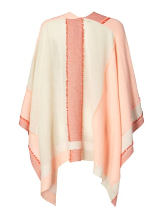Boss Orange Poncho mit Fransendetails Neon Orange - 1