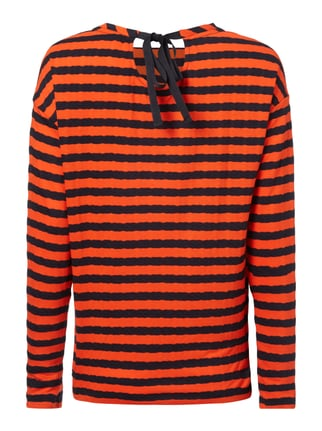 Boss Orange Shirt mit Streifenmuster Orange - 1