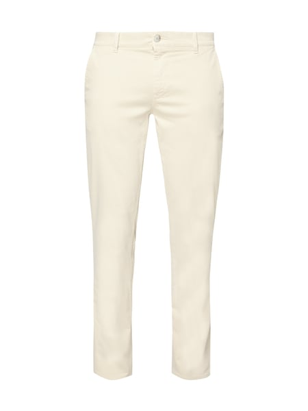 Boss Casual Slim Fit Chino mit Stretch-Anteil Weiß - 1