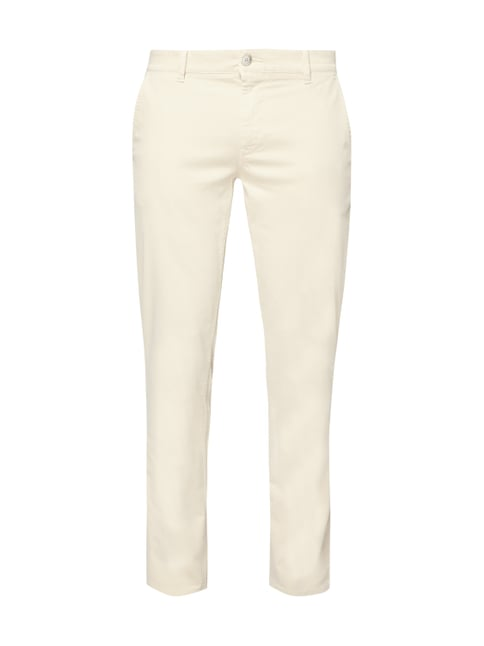 Boss Casual Slim Fit Chino mit Stretch-Anteil Weiß - 1 ... 2392d07dc9