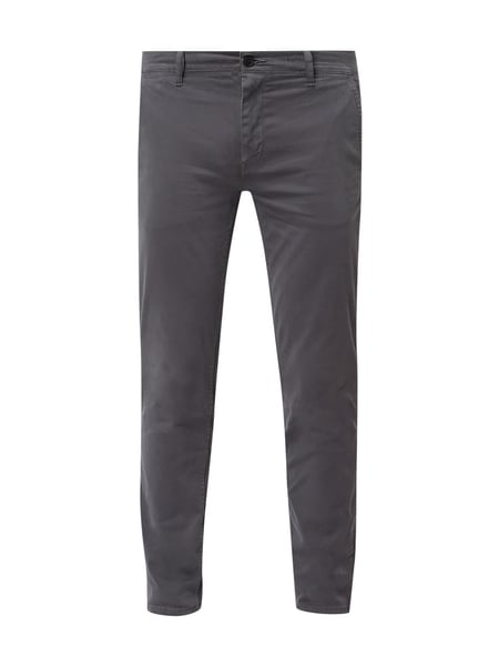 Boss Casual Slim Fit Chino mit Stretch-Anteil Blau / Türkis - 1