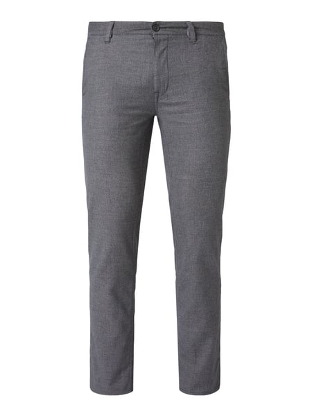 Boss Casual Slim Fit Chino mit Stretch-Anteil Blau - 1