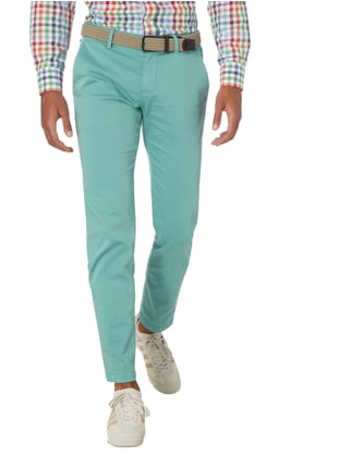 Boss Orange Slim Fit Chino mit Stretch-Anteil Grün - 1