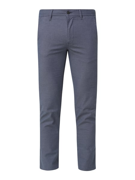 BOSS Casualwear Slim Fit Chino mit Stretch-Anteil Modell 'Schino' Blau - 1