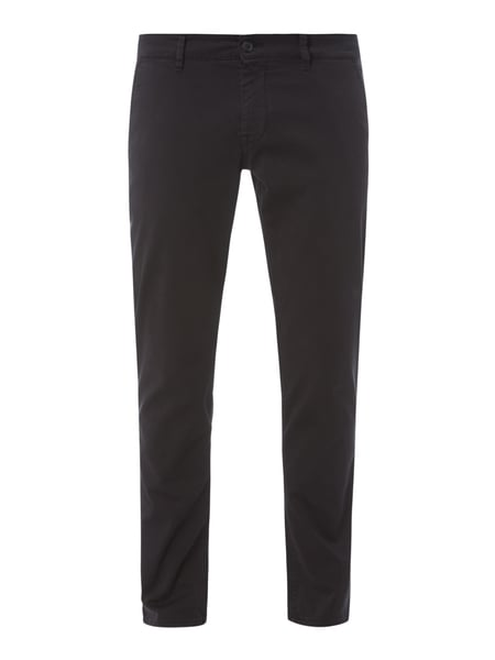Boss Casual Slim Fit Chino mit Stretch-Anteil Schwarz - 1
