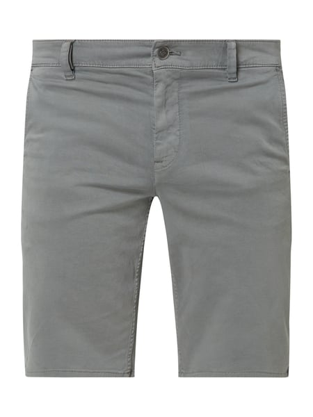 BOSS Casualwear Slim Fit Chino-Shorts mit Stretch-Anteil Grau - 1