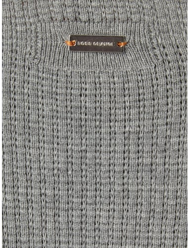 Slim Fit Pullover aus reiner Baumwolle Boss Orange online kaufen - 1