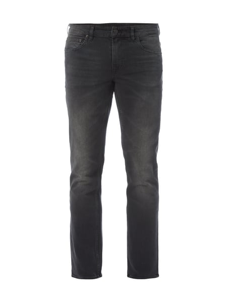Boss Orange Orange63helsinki - Stone Washed Slim Fit Jeans Anthrazit