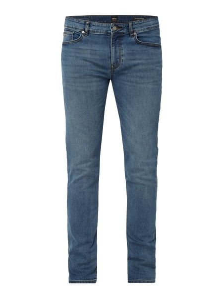 Boss Casual Stone Washed Slim Fit Jeans Blau - 1
