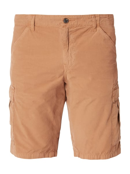 Boss Orange Sebas-shorts-d 1 - Straight Fit Cargoshorts aus Baumwolle Mittelbraun