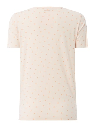 Boss Orange T-Shirt mit Allover-Muster Rosa - 1