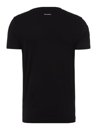 Boss Orange T-Shirt mit Print Schwarz - 1