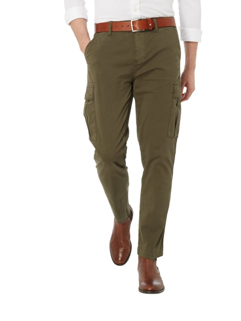 ... Boss Casual Tapered Fit Cargohose mit Stretch-Anteil Dunkelgrün - 1 b0c910c719