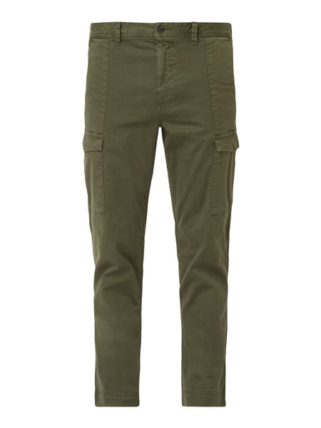 Boss Casual Tapered Fit Cargohose mit Stretch-Anteil Grün - 1