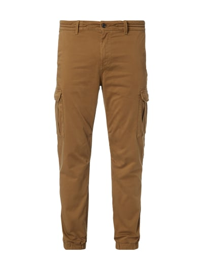 BOSS-CASUAL Tapered Fit Cargohose mit Tunnelzug in Weiß online kaufen  (9676061) ▷ P C Online Shop e4e29fe477