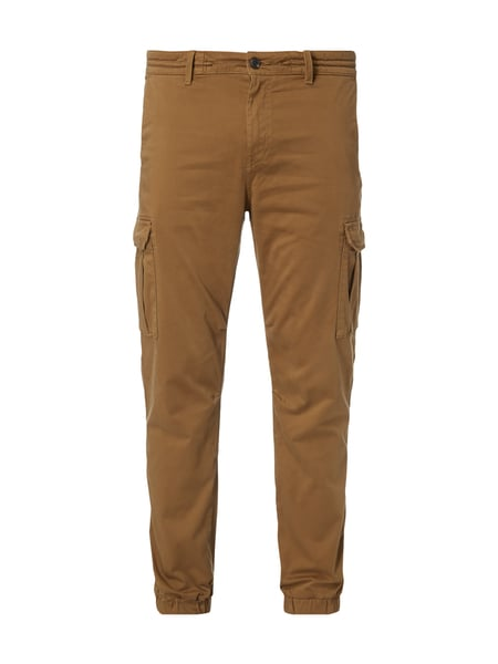 BOSS-CASUAL Tapered Fit Cargohose mit Tunnelzug in Weiß online ... f11f85538c