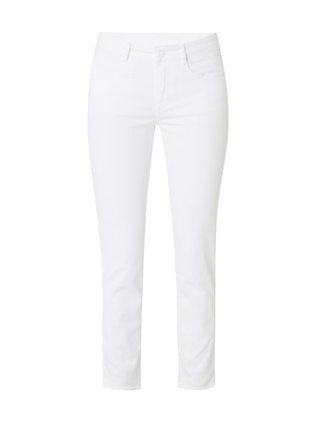 Boss Nelin - Coloured Straight Fit Jeans Weiß