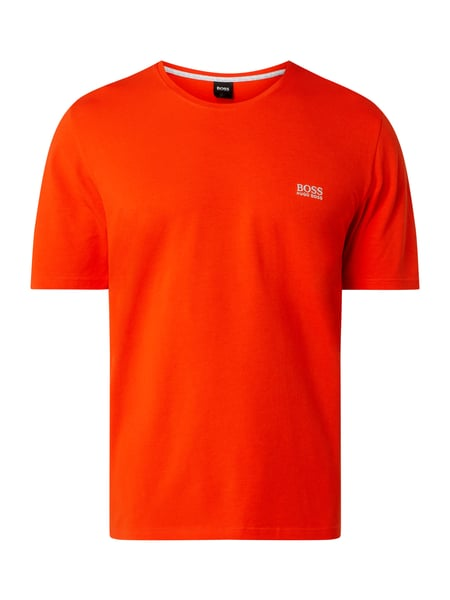 BOSS Pyjama-Oberteil mit Logo-Stickerei Orange - 1