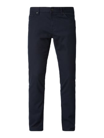 Boss Regular Fit 5-Pocket-Hose mit Webstruktur Blau / Türkis - 1