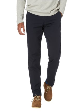 Boss Regular Fit Chino mit Stretch-Anteil Marineblau - 1