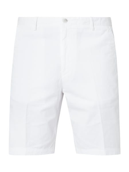 Boss Regular Fit Chinoshorts mit Stretch-Anteil Weiß - 1