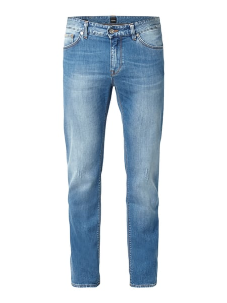Boss Maine3 - Regular Fit Jeans im Used Look Jeans