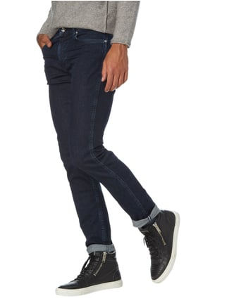 Boss Rinsed Washed Slim Fit Jeans Marineblau - 1