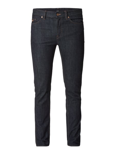 BOSS Rinsed Washed Slim Fit Jeans Blau - 1