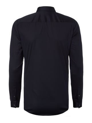 Boss Slim Fit Business-Hemd mit Stretch-Anteil Dunkelblau - 1